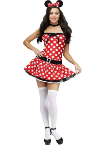 Miss Minni Mouse Adult Costume