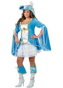 Miss Musketeer Adult Costume