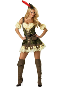 Miss Robin Hood Adult Costume