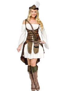 Miss Robin Hood Female Adult Costume