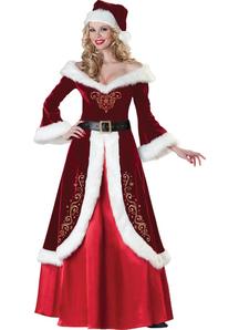 Mrs Klaus Adult Costume
