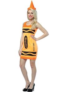 Orange Pencil Crayola Adult Costume