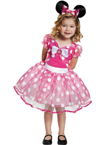Pink Minni Child Costume