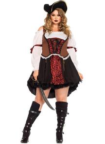Pirate Diva Plus Size Costume