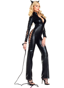 Playful Catwoman Adult Costume