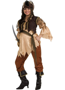 Pregnant Pirate Adult Costume