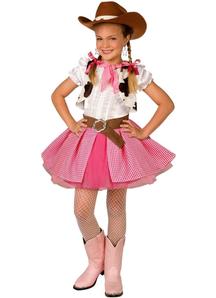 Pretty Cowgirl Child Costume