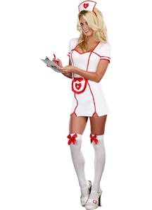 Pretty Nurse Adult Costume