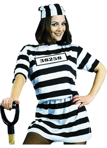 Prisoner Female Adult Costume