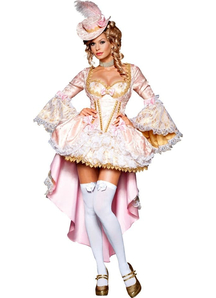 Queen Of Versailles Adult Costume