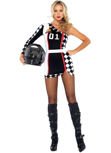 Racer Female Adult Costume