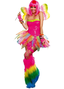 Rainbow Fairy Adult Costume