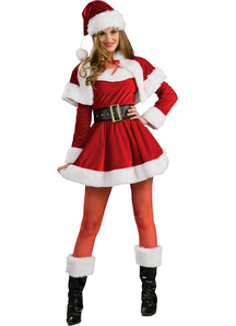 Santa Female Adult Costume