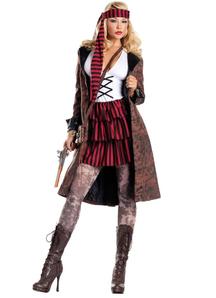 Seductive Pirate Adult Costume