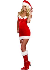 Seductive Santa Adult Costume