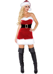Sexy Claus Adult Costume