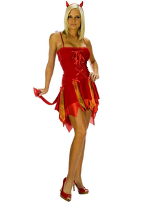 Sexy Devil Female Adult Costume