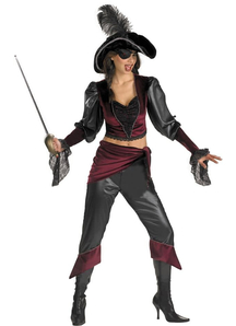 Sexy Lady Pirate Adult Costume