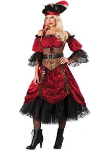 Splendid Pirate Adult Costume