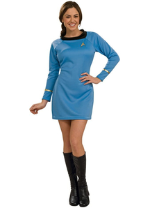 Star Trek Blue Costume Adult