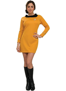 Star Trek Gold Costume Adult