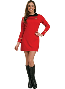 Star Trek Red Costume Adult