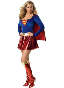 Supergirl Cute Adult Costume