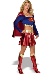 Supergirl Women Costume