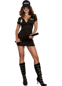 Swat Police Female Adult Costume