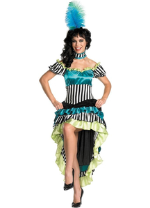 Sweet Can Can Adult Costume