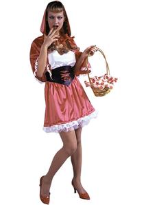 Sweet Riding Hood Adult Costume