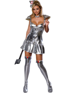 Tin Woman Wizard Of Oz Adult Costume