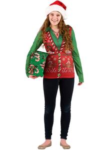 Ugly Christmas Vest Adult