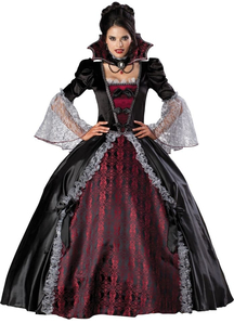 Vampiress Of Versailles Adult Costume