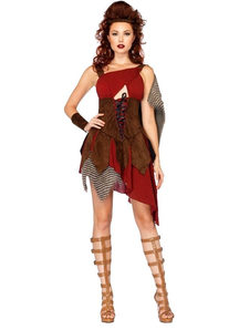 Warrior Huntress Adult Costume