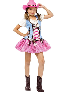 Western Cowgirl Child Costume