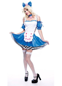 Wicked Alice In Wonderland Adult Costume