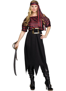 Wild Pirate Adult Costume