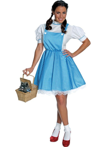 Wiz Of Oz Dorothy Adult Costume