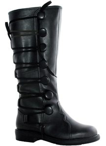 Boots Ren Mens Bk Sz 10-11