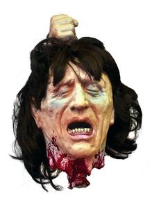 Fresh Beheaded Puppet. Halloween Heads.