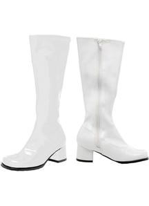 Go Go Boot Child Size 1 White