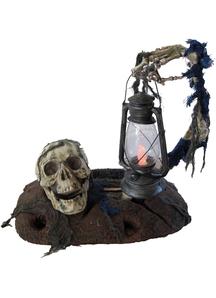 Ground Breaker With Lantern