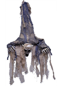 Hanging Upside Down Ghoul. Halloween Prop.