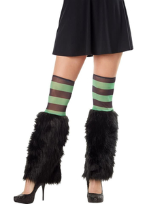 Kit Leg Furries Stripe Grn/Blk