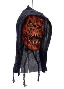 Pumpkin Reaper Head. Halloween Heads.