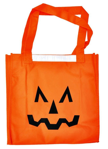 Pumpking Nylon Bag. Halloween  Decoration.