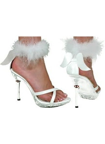 Shoe Sexy Angel Wht Wmn Sm