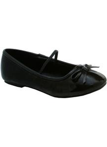 Shoes Ballet Flat Bk Sz 11-12