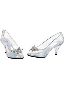Shoes Glass Slipper Sz 9
